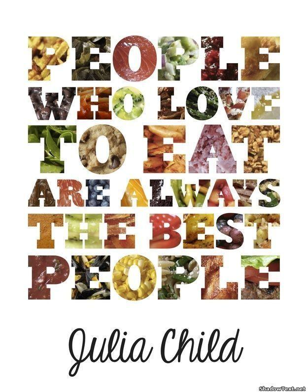 Happy birthday Julia Child.